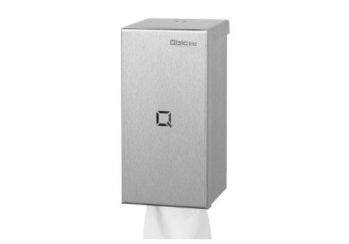 HorecaTraders Stainless steel mini cleaning roll holder
