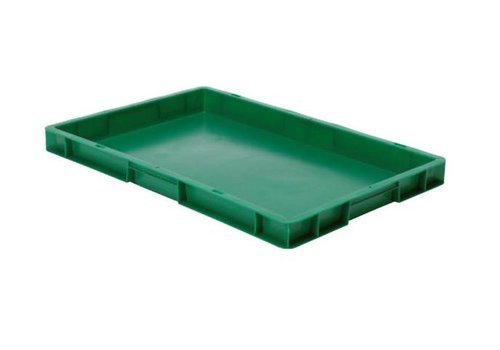 Polypropyleen Krat | 5 Kleuren | 600 x 400 x 50 mm