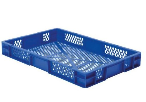 HorecaTraders Stacking bins Plastic | 60 x 40 cm | 5 colors