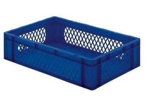 Aufbewahrungsbehälter aus Kunststoff 60 x 40 cm 5 Farben