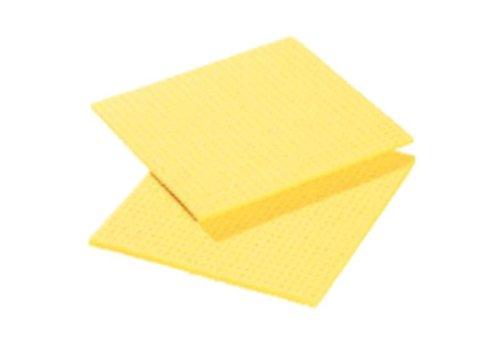 HorecaTraders Sponge cloth | 20.6 x 18.5 cm (10 pieces)