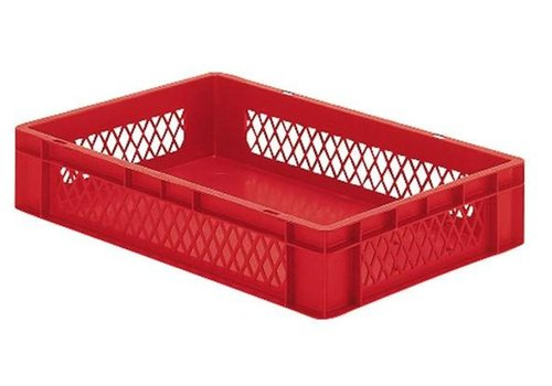 Plastic storage bins 60x40 cm 5 colors