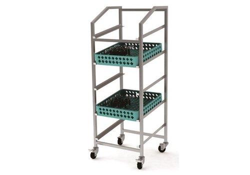 Combisteel Basket conveyor trolley 500 x 500 mm