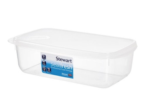 HorecaTraders Plastic food box 1 ltr 10 Different Formats