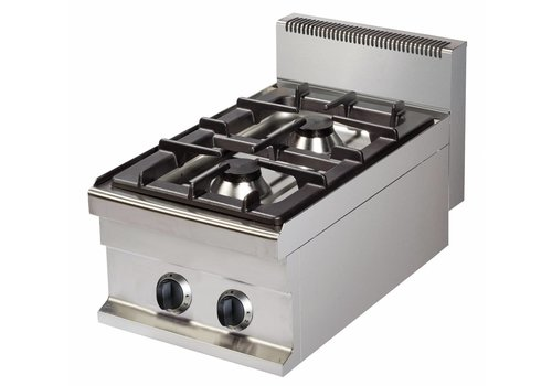 Combisteel Gas cooker with 2 burners
