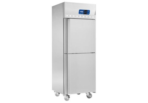 Diamond INOX Kühlschrank und Gefrierschrank 2x 352 Liter
