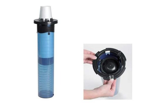 San Jamar Undercounter Cup dispenser - Plastic (4 sizes)