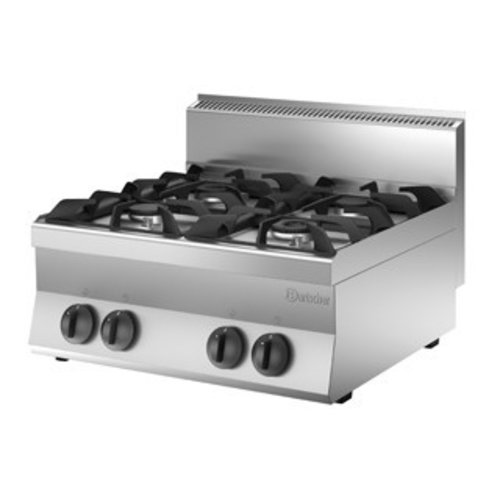 Gas cooker without oven