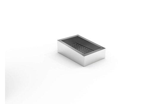 Combisteel Crushed Ice Bake | 1/1 GN | SCHUIN | Edelstahl AISI 304
