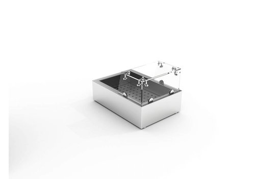 Combisteel Glass Revolt for Crushed Ice Bake 1/1 GN