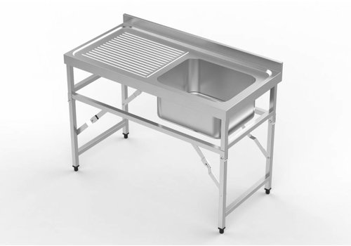 Combisteel Stainless steel Collapsible Sink (2 sizes)
