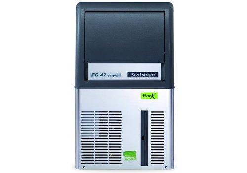 Scotsman Ice Systems Gourmet Ice machine EC 47 25kg / D | Storage 9 kg