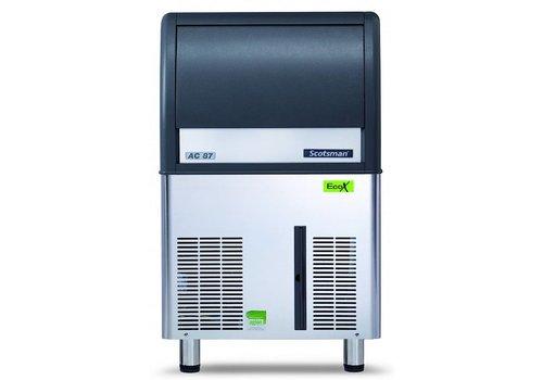 Scotsman Ice Systems Gourmet Eiswürfelmaschine EC 87 45kg / D | Lagerung 19 kg