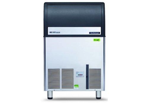Scotsman Ice Systems Gourmet Ice cube machine EC 177 84kg / D | Storage 48 kg