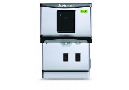 Scotsman Ice Systems Cubelet 70kg/24u IJsblokjesmachine DXN 107 | Opslag 5 kg