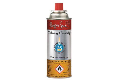 HorecaTraders Gasbehälter Universalfüllung für Gasrechaud und Koksbrander