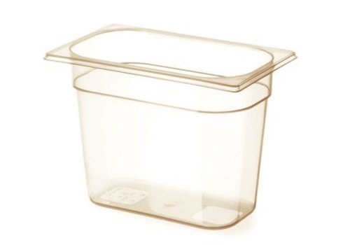 Hendi Plastic gastronorm containers 1/4 -40 ° C to 150 ° C