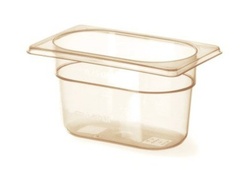 Hendi Plastic gastronorm containers 1/9 -40 ° C to 150 ° C