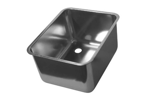 HorecaTraders Stainless Steel Rectangular Sinks | 12 Formats