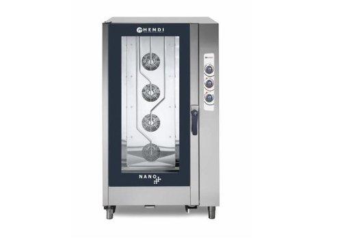 Hendi Combi Steamer Analoog | Nano | 20x 1/1 GN | 1050x940x(H)190mm