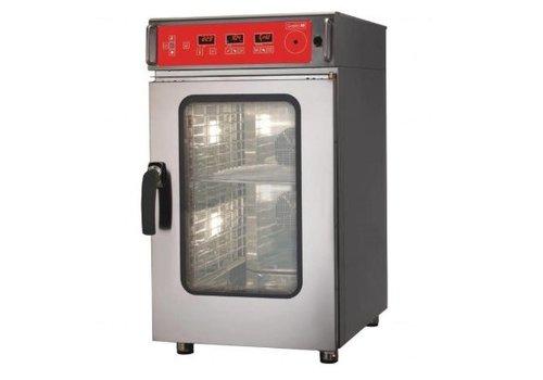 Gastro-M Gastro M Kombidämpfer   10 x GN1 / 1   Elektronischer Betrieb Reinigungssystem   51,7 × 89 × (H) 95,6 cm