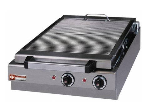 Diamond Steam grill Electric Table model - 410x340mm - 49x50x (h) 18cm