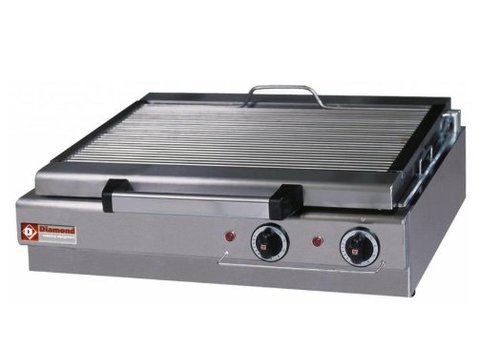 Diamond Steam grill Electric Table model - 600x340mm - 70x50 (h) 18cm