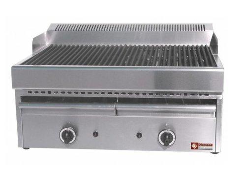 Diamond Steam grill Gas Cast iron - Grid - Table model - 77x63x (h) 43cm
