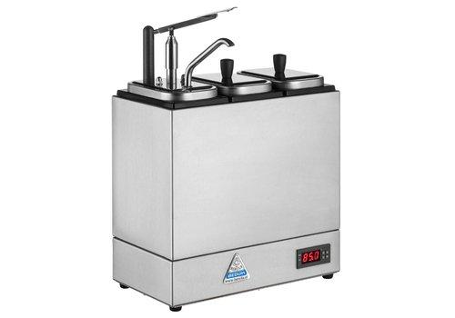 Bereila Sauzenbar met 1 Dispenser en 2 Extra Reservoirs