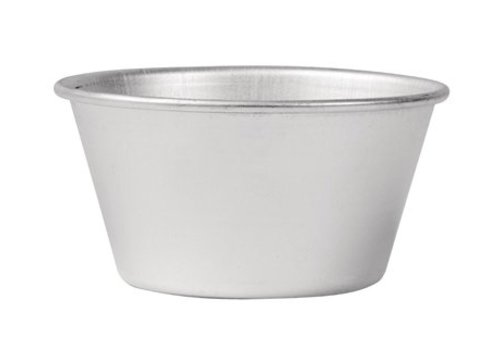 Vogue Vogue Aluminum Pudding mold 10.5cl