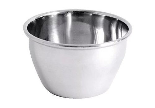 HorecaTraders Stainless steel pudding mold 15cl