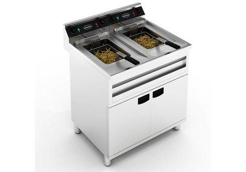 Combisteel Fryer Standing | 2 x 12L | 2 x 9kW
