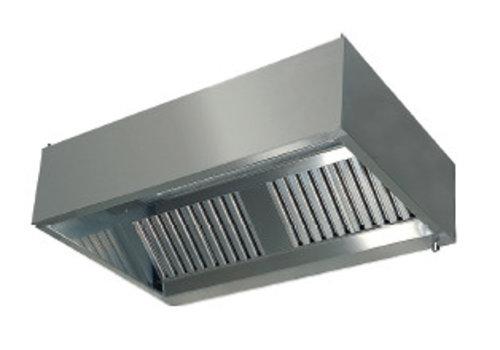 HorecaTraders Dunstabzugshaubenwandmodell mit Filtern 900 Linie