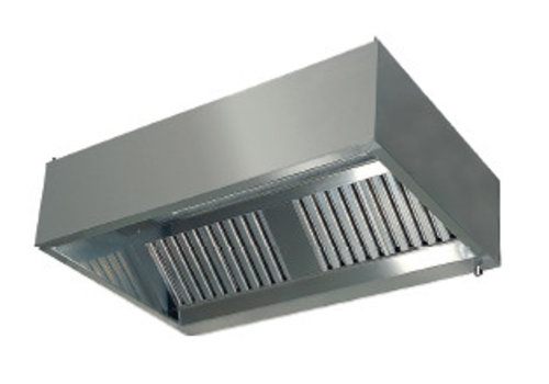 HorecaTraders Extractor hood wall model with filters 900 Line