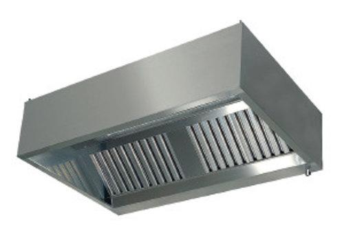 HorecaTraders Dunstabzugshaubenwandmodell mit Filtern 1100 Linie