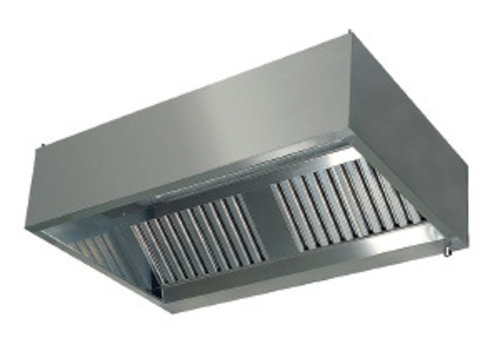 HorecaTraders Extractor hood wall model with filters 1100 Line
