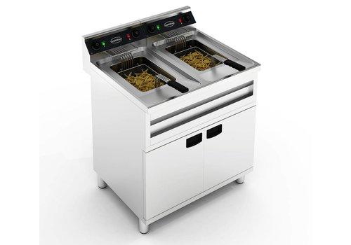 Combisteel Standing fryer | 2X12L | 2X6KW