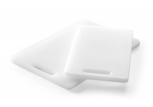 Hendi Cutting board with handle black or white 2 sizes