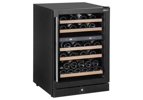 Hendi Wijnkoeler met Twee Zones | 155 liter