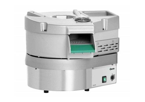HorecaTraders Besteckmaschine aus Edelstahl Integrierte UV-Lampe 3500 Stück / U