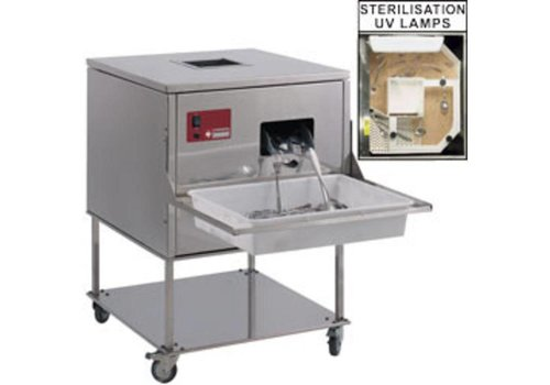 HorecaTraders Cutlery Polisher for Cutlery 7000/8000 p / hour