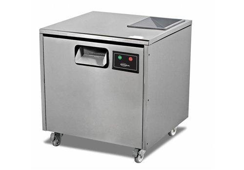 HorecaTraders Bestekpoleermachine - 7000 stuks bestek - 660x650x(h)700mm
