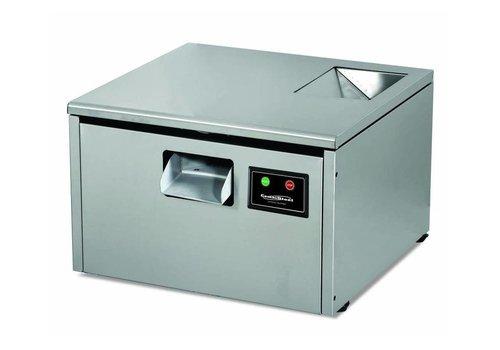 HorecaTraders Besteckschneider - 3000 Teile Besteck - 560x550x (h) 410mm