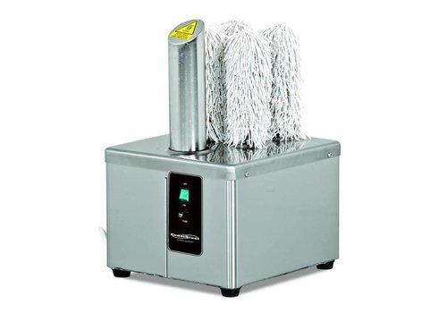 HorecaTraders Glaspolierer - 300-360 Gläser - 0,37 kW
