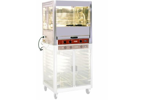 Diamond Chicken grill electric 5 rotating baskets 25 chickens