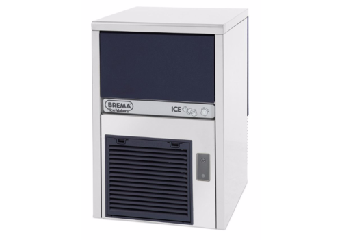 Brema RVS IJsblokjesmachine CB246-HC | 24kg/24uur | Luchtgekoeld