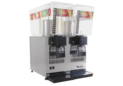 Santos Cold drinks Dispenser - 2 Bowl x 12Ltr