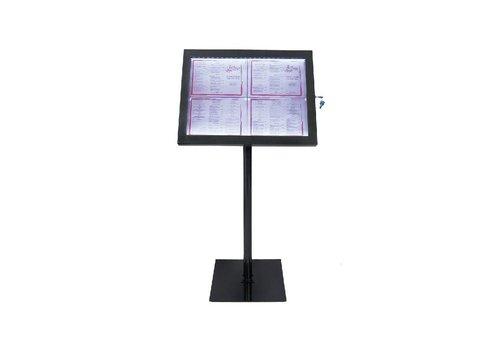 Securit LED Info Display Unit zwart
