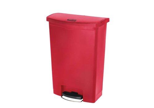 Rubbermaid Pedal trash bin 90 liters   3 Colors
