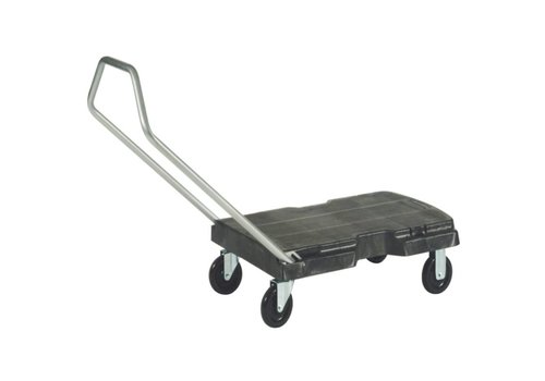 Rubbermaid Catermax Trolley, schwarz